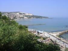 Černé moře v Balčiku