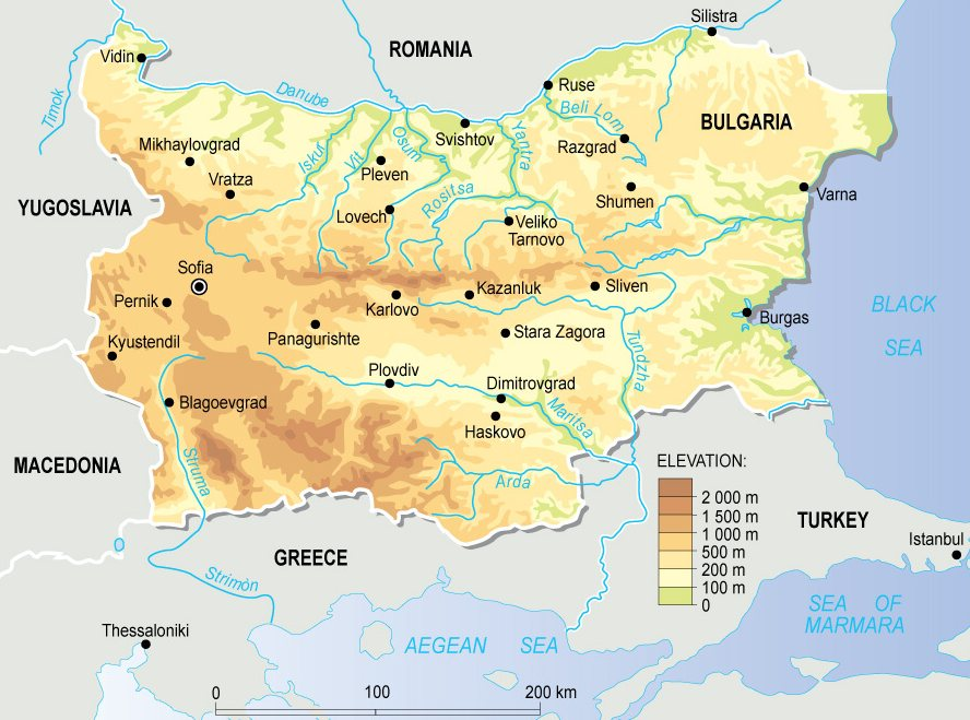 Bulharsko Blog Archive Mapy Bulharska Zdarma Ke Stazeni